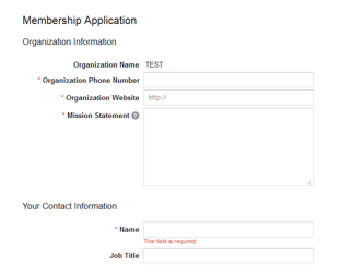 Google For Nonprofits membership organisation information